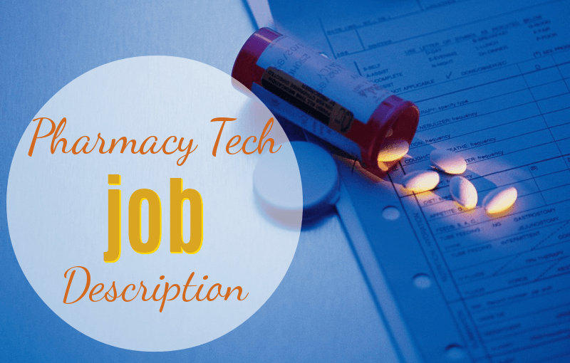 Pharmacy technician job description resume – Pharmacist Job Description