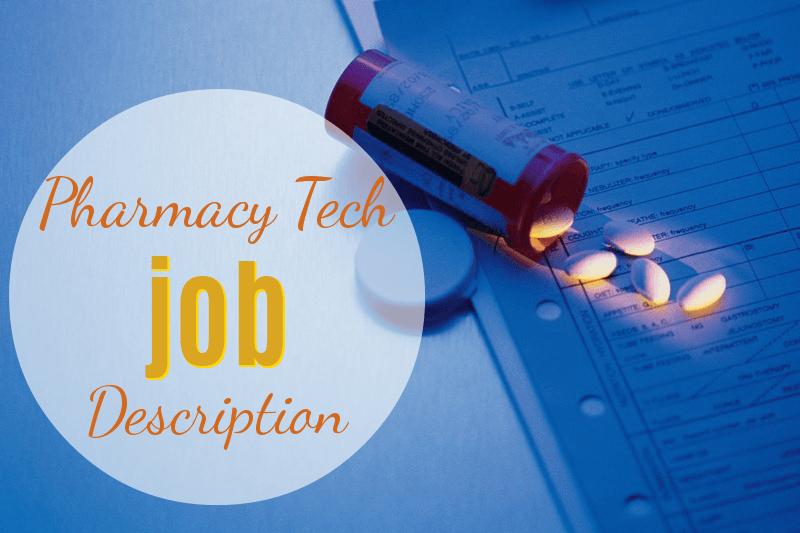 Pharmacy Technician Job Description